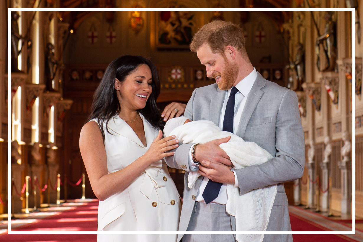 The Details That Made Meghan Markle's Royal Baby Reveal The Most Feminist Yet