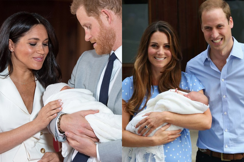 Meghan Markle Prince Harry Prince George Kate Middleton Baby Body Language