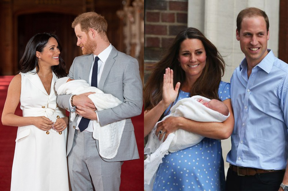 Meghan Markle Prince Harry Prince William Kate Middleton Baby Body Language