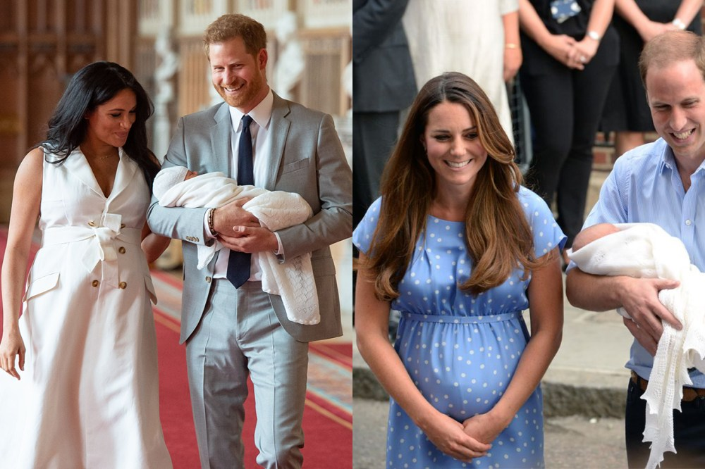 Meghan Markle Kate Middleton Prince William Prince Harry Baby Body Language