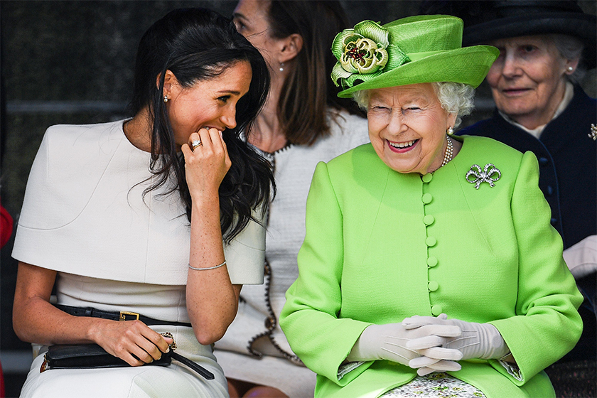 Meghan Markle royal baby queen-elizabeth-visit