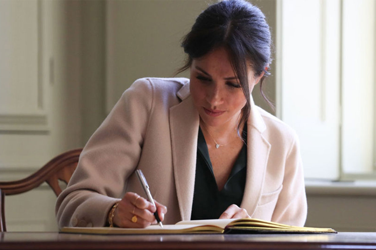Meghan Markle's Stunning Handwriting Reveals A Lot About Her Personality