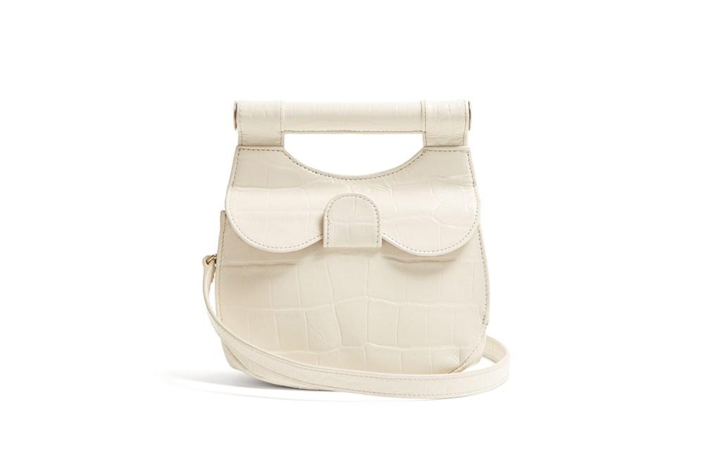 Mini Madeleine Crocodile-Effect Leather Bag