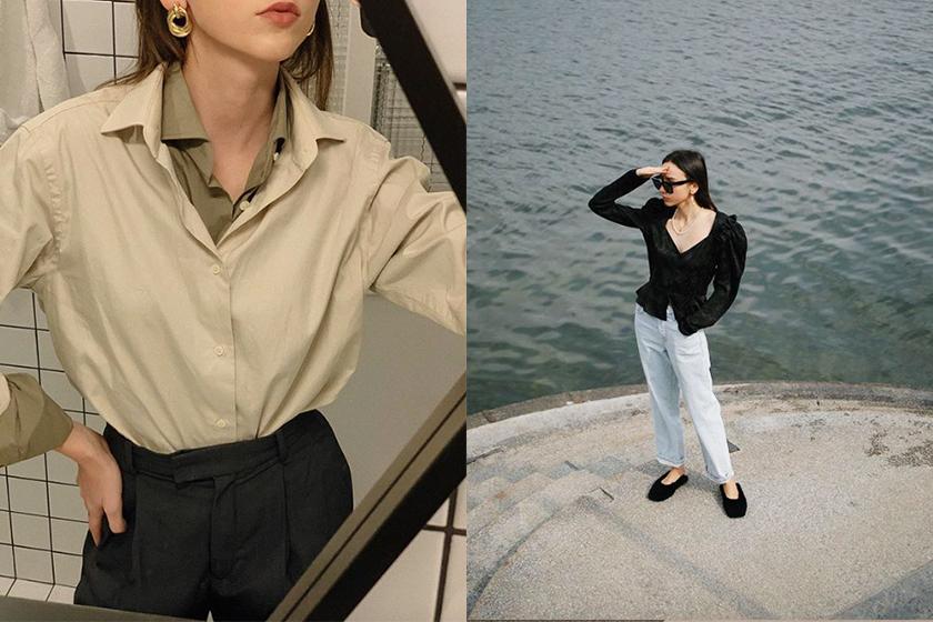 minimalist outfit idea Beatrice Gutu