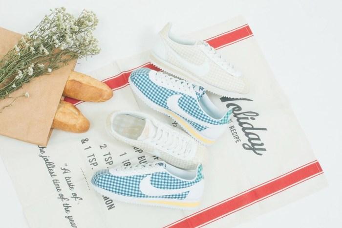 這雙波鞋讓人一見鐘情,粉嫩蠟筆色系的格紋阿甘鞋怎能不心動?