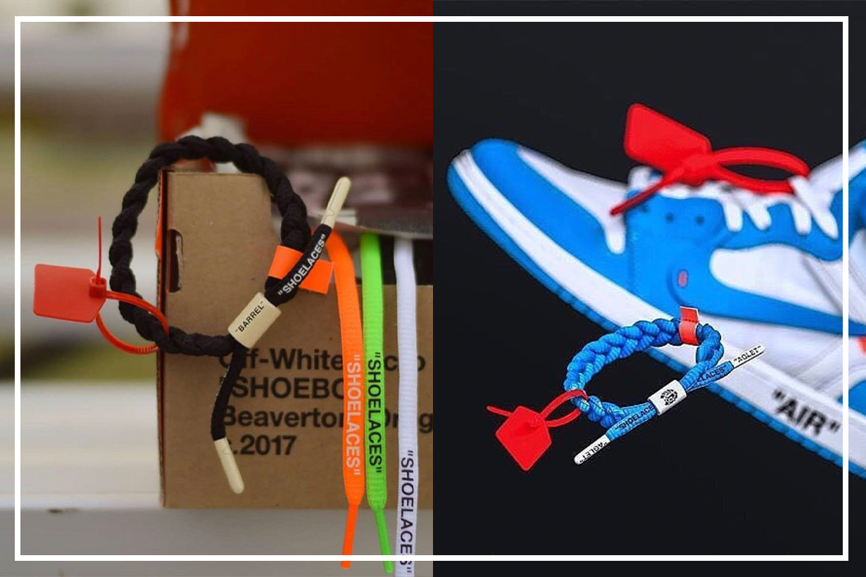 Off-White red zip ties lawsuit against Rastaclat