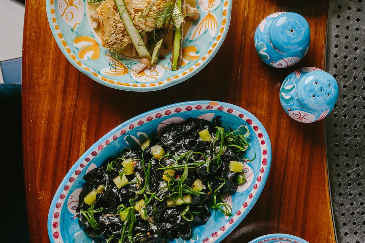 osteria marzia asparagi menu