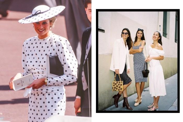 Dior、戴妃也大愛:這款優雅又顯貴氣的裙子,Zara、H&M 也上架了!