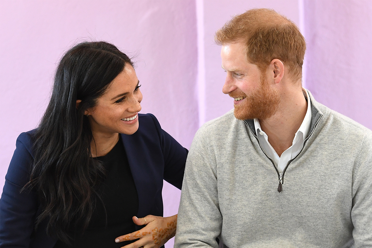 Prince Harry Gives His First Interview on Meghan Markle and Their New Baby Boy: 'We're Both Absolutely Thrilled'