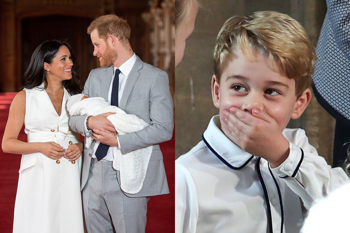 Prince George Revealed Prince Harry's Baby Name Archie