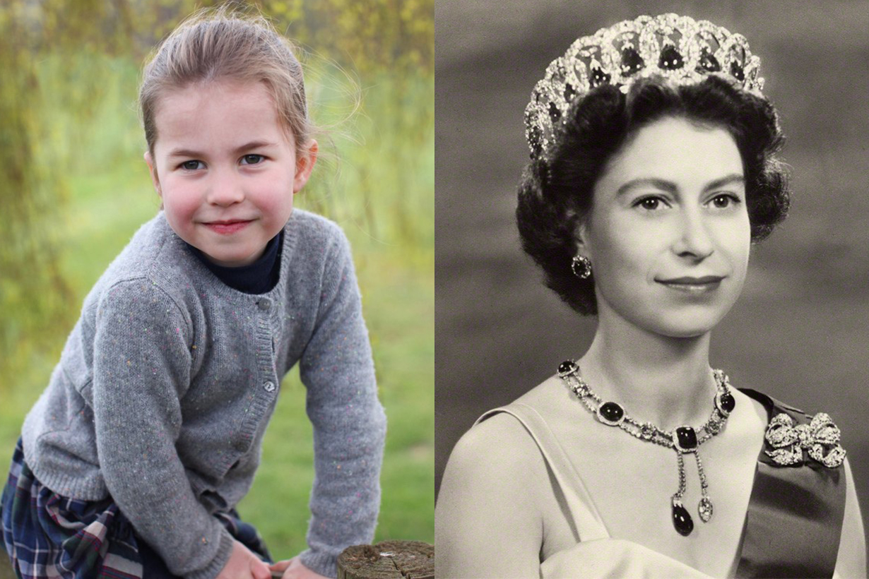 Princess Charlotte's Adorable New Portraits for Her 4th Birthday