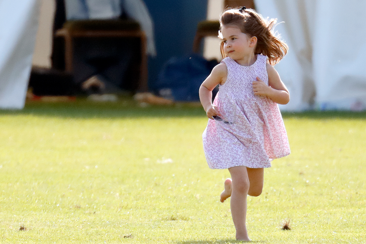 Princess Charlotte Wore the Same Shoes as Prince George for Her Birthday Portrait