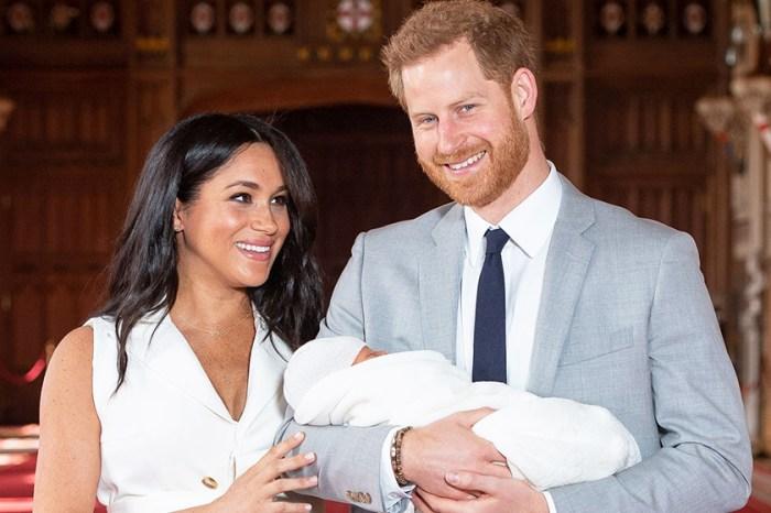 讀唇專家解讀:新手爸爸哈里在拍照前向梅根悄悄說了這句話,盡顯貼心一面!