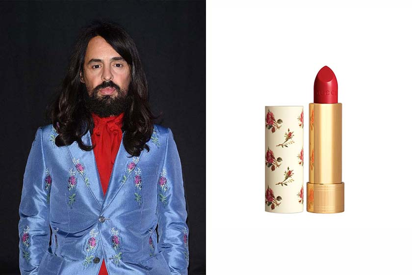 Alessandro Michele Gucci make up new lipstick collections