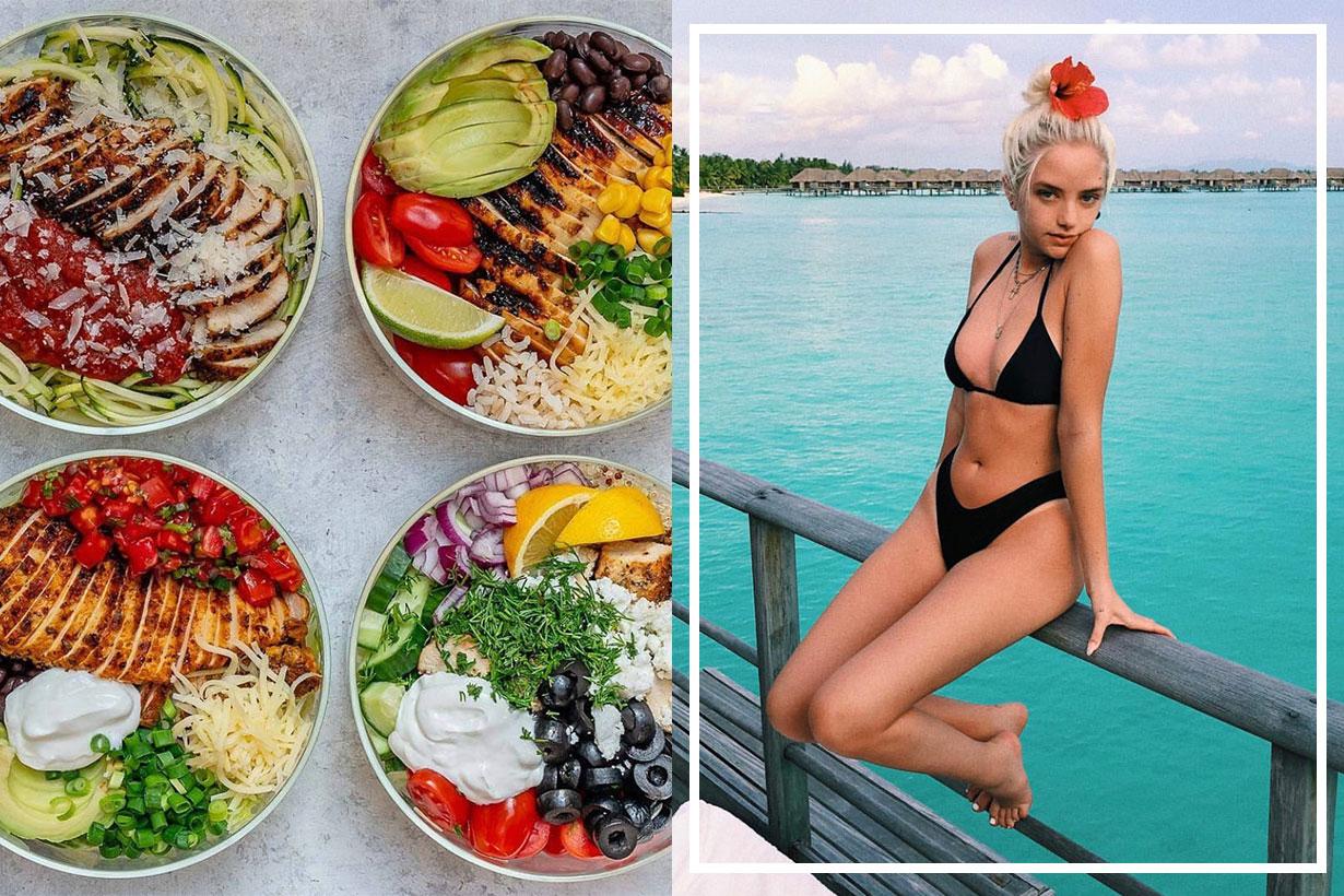 salad keep fit