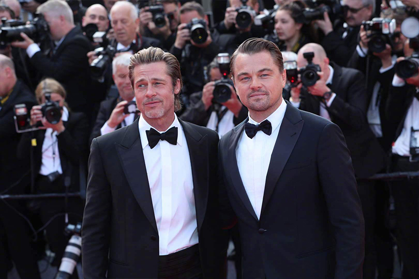 Brad Pitt Leonardo DiCaprio Once Upon A Time In Hollywood Cannes Film Festival