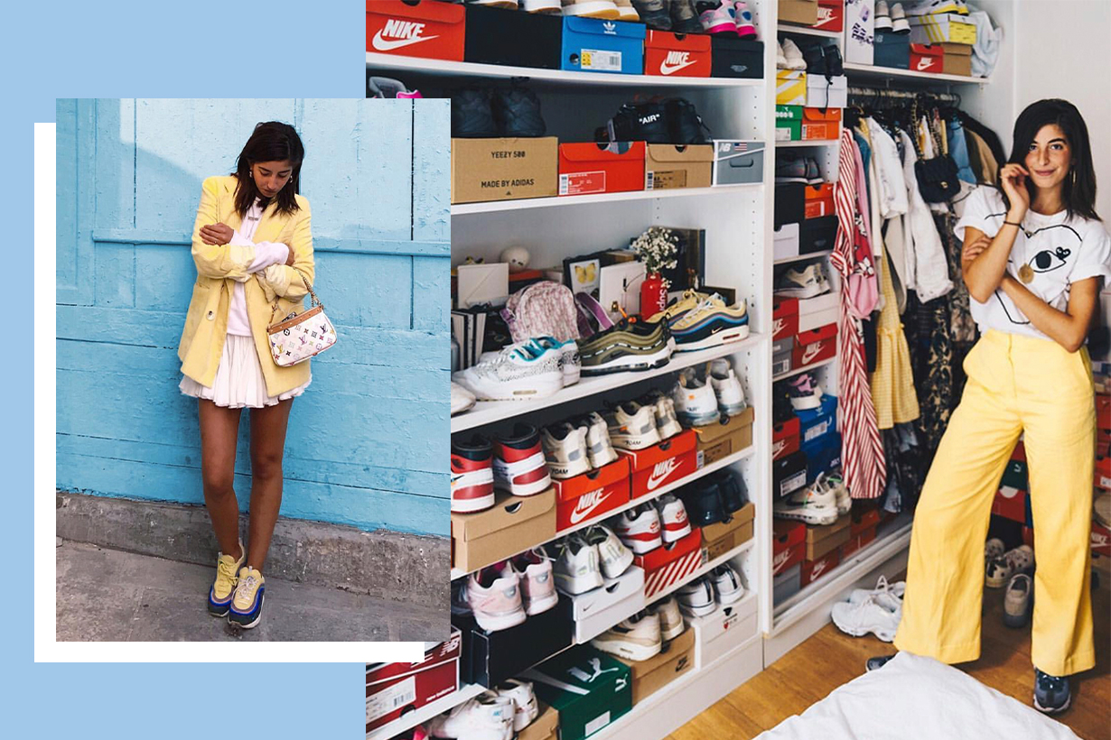 @selmaksebbagh is the Parisian Sneaker Collector You Should Be Following