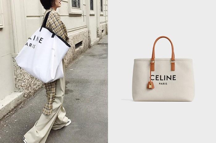 你們買單嗎?Celine 這款最新手袋被稱為「Tote bag 2.0」,或將掀起一股新風潮!
