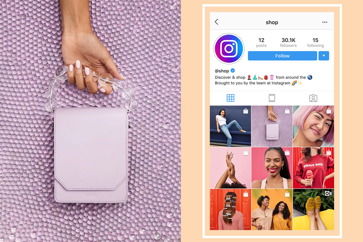 Instagram's New @Shop Account Is Going to Tell You What to Buy