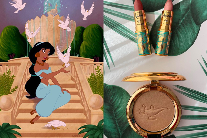 M.A.C x Disney Aladdin make up collection