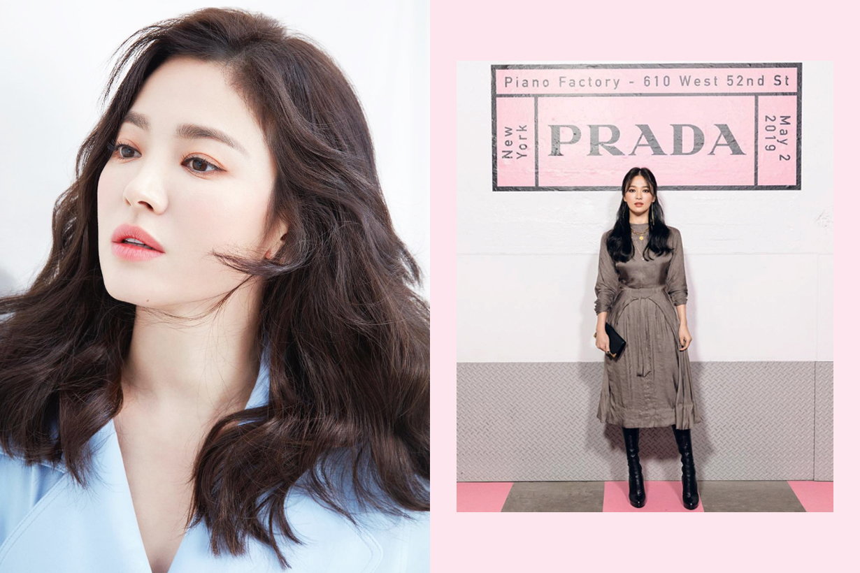 Song Hye Kyo Prada Fashion Show Black Swan Smokey Eyes makeup celebrities makeup tips eye makeup k pop korean idols celebrities actresses