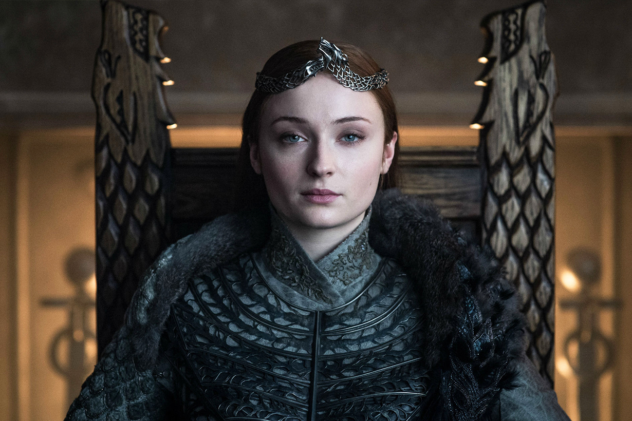 Sophie Turner Was Asked If She'd Reprise Sansa for a 'Game of Thrones' Spin-Off
