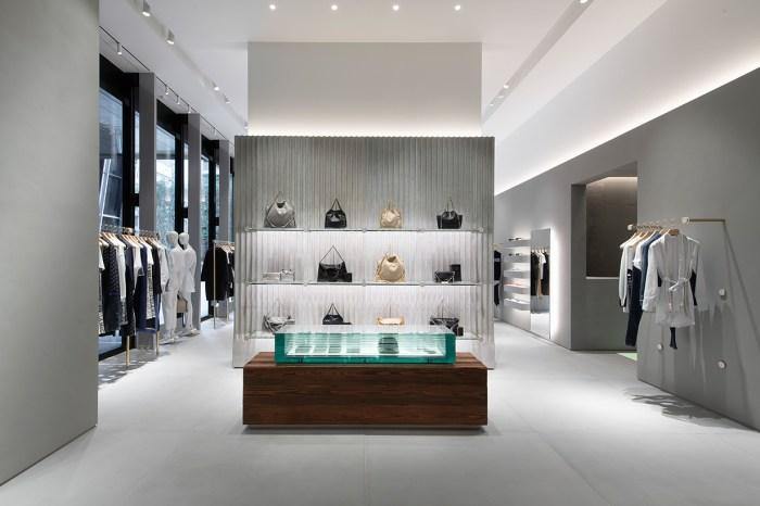 Stella McCartney 全新店鋪落成,每一個角落都充滿了品牌的簡約美學!