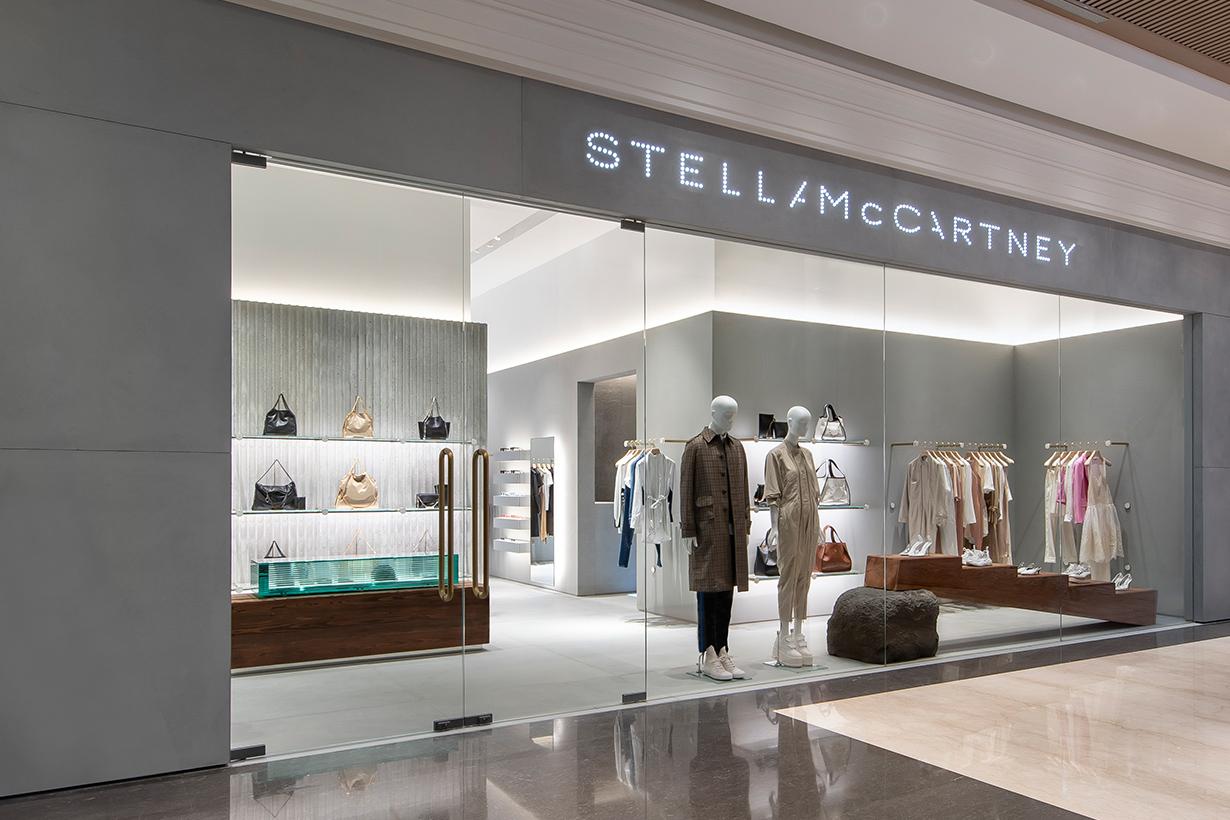 stella mccartney taipei breeze nanshan new store opening