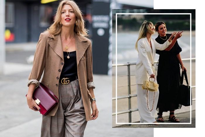 上班以外亦要保持知性專業!澳洲時裝週街拍盡顯今季潮流必備的事業型穿搭
