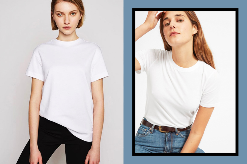basic white T-shirt for summer editor's pick