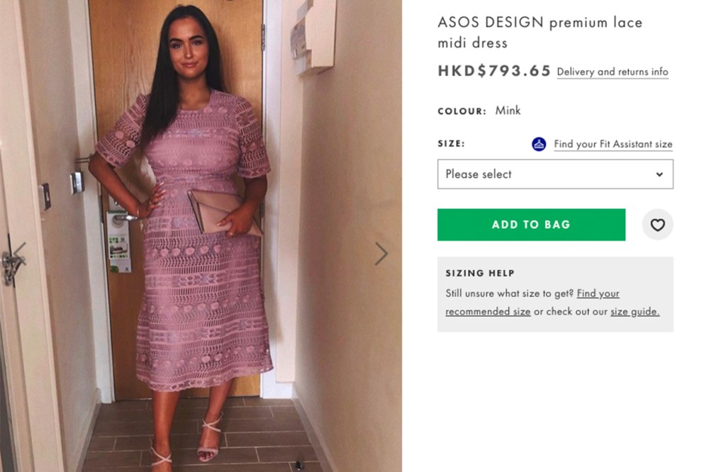 ASOS Dress Woman Twitter