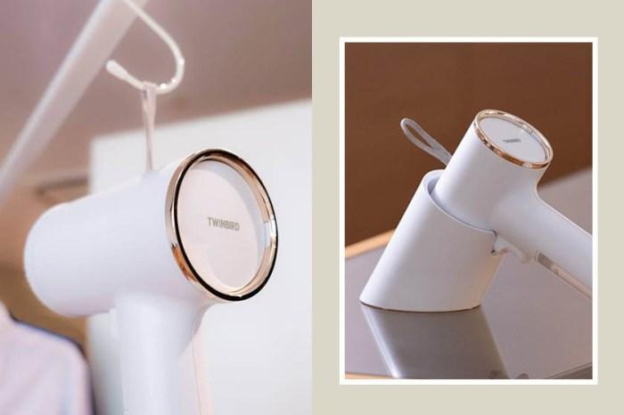CP值爆燈:日本這一台絕美「蒸氣燙掛機」,小巧設計深受網民極度推介!