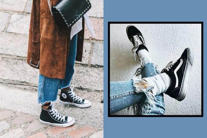 無論你穿的是 Vans 或 Converse,今個夏天一定要配這單品,因為時尚又減齡!