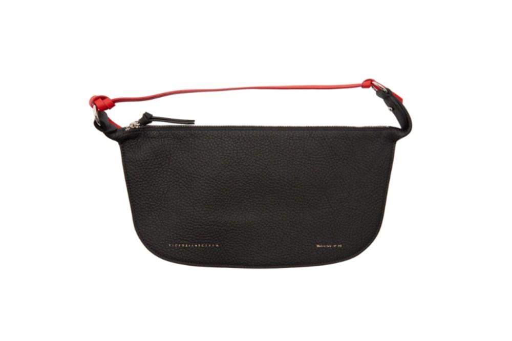 Victoria Beckham Black Crossbody Baguette Bag