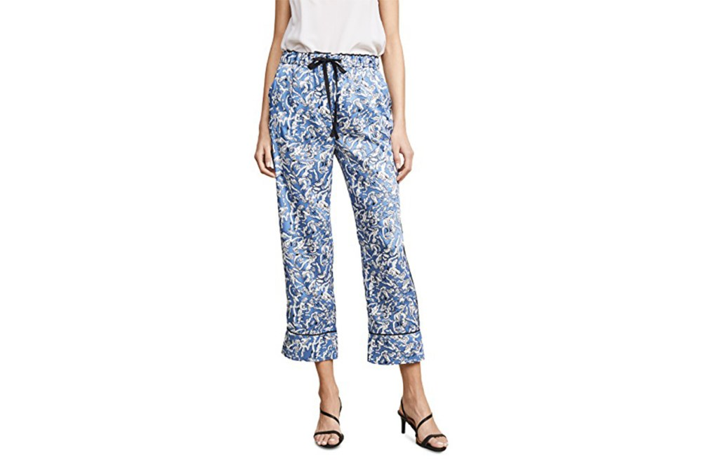 Victoria Victoria Beckham Wide Leg Pajama Pants