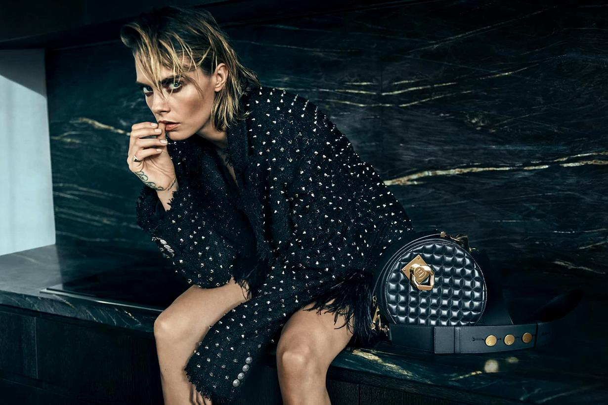 cara delevingne olivier rousteing balmain handbags collaboration