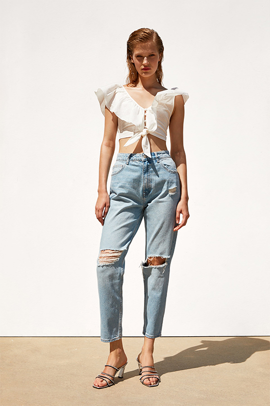 zara-denim-on-denim summer lookbook