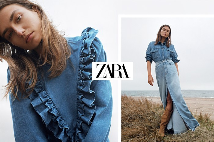 Denim on Denim 不一定只有型格硬朗,Zara 教你穿出亦剛亦柔的牛仔造型!