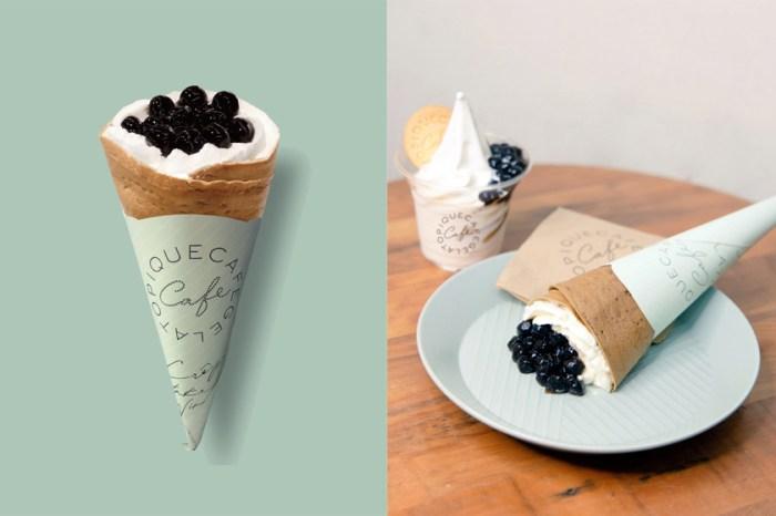 最銷魂的夏季甜點:期間限定「珍珠奶茶可麗餅」引起討論,到底哪裡有賣?