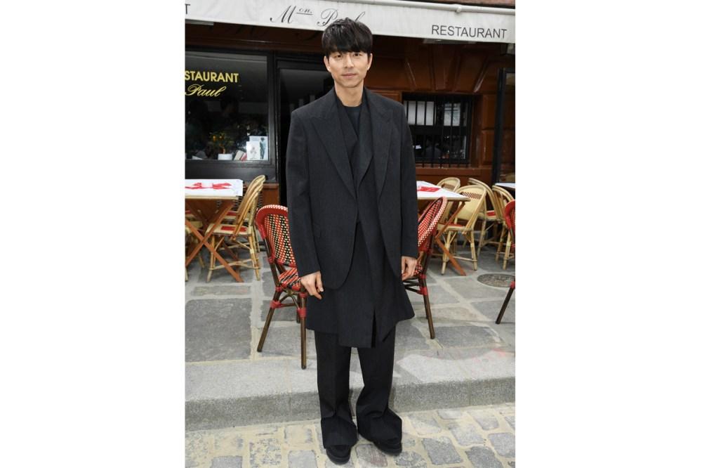 gong yoo louis vuitton fashion week goblin