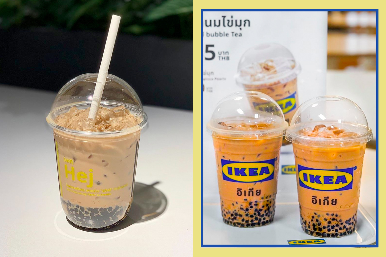 thailand ikea milk tea bubble bangkok