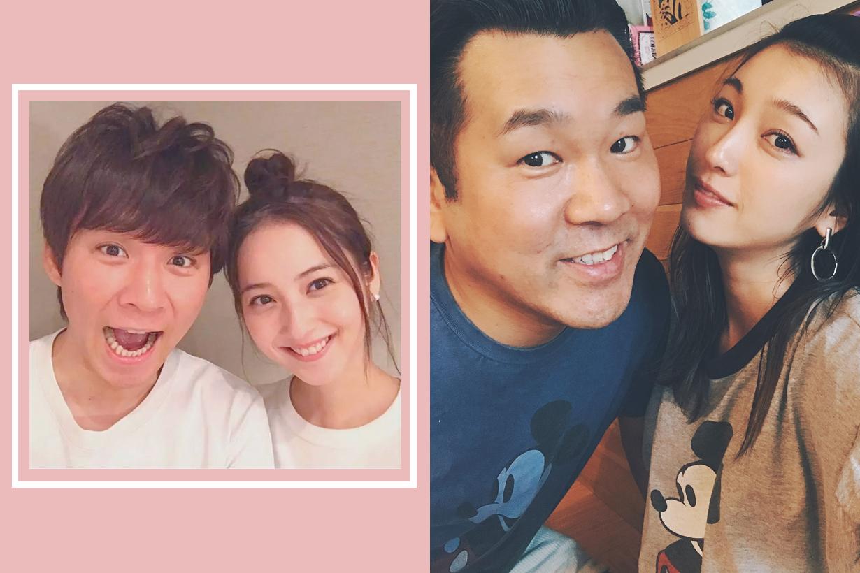 Yama chan YU AOI comedian japanese actress couple marriage