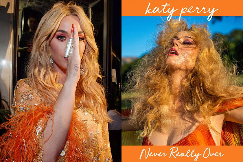 Katy Perry Fans same Heart Tattoo new song Never Really Over