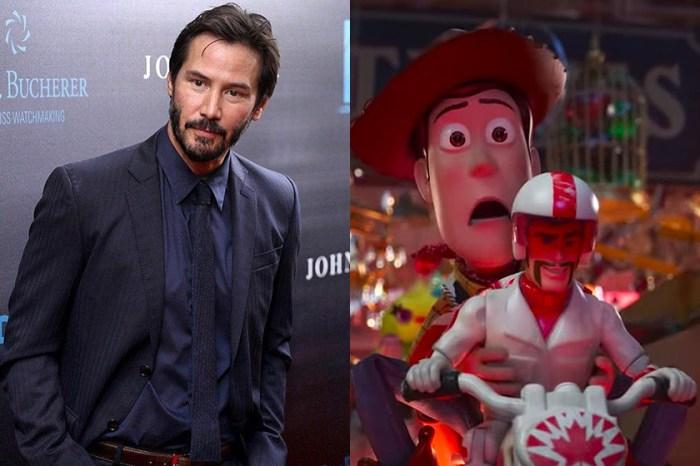 原來是這個原因讓 Keanu Reeves 接下《Toy Story 4》中的反差角色!