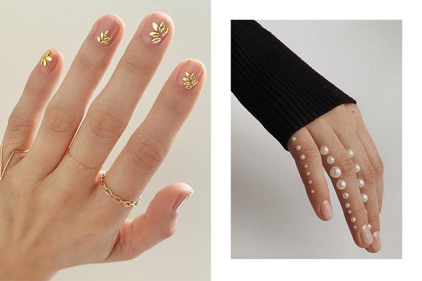 Wedding Style Nail Arts Trend inspiration