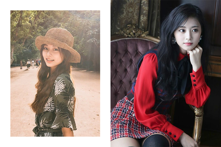 Twice Tzuyu Chou Lip Stick Color Estee Lauder