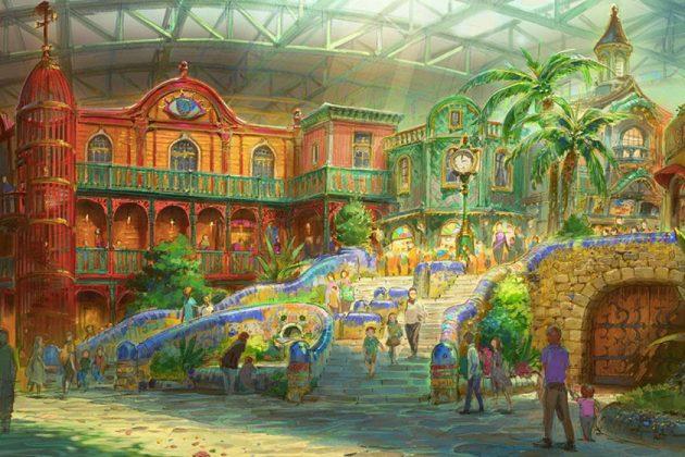 Hayao Miyazaki Studio Ghibli Playground Japan