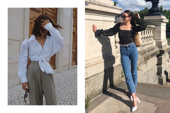 想穿出法國女生的顯瘦、優雅氣質?跟上時尚博主們挑選上衣的這個重點!
