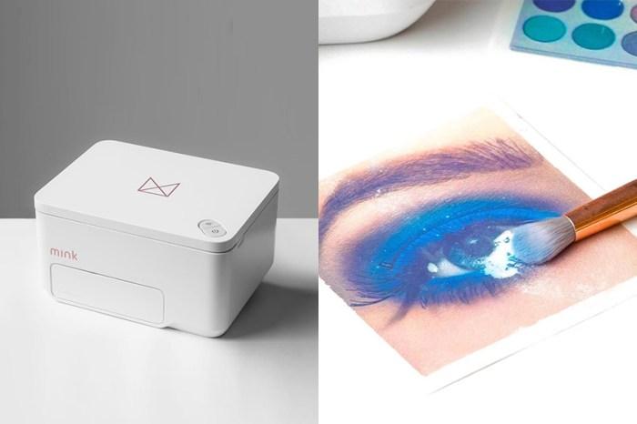 實用度引起討論!這款神奇「妝容打印機」竟可以直接印出想要的眼影色!