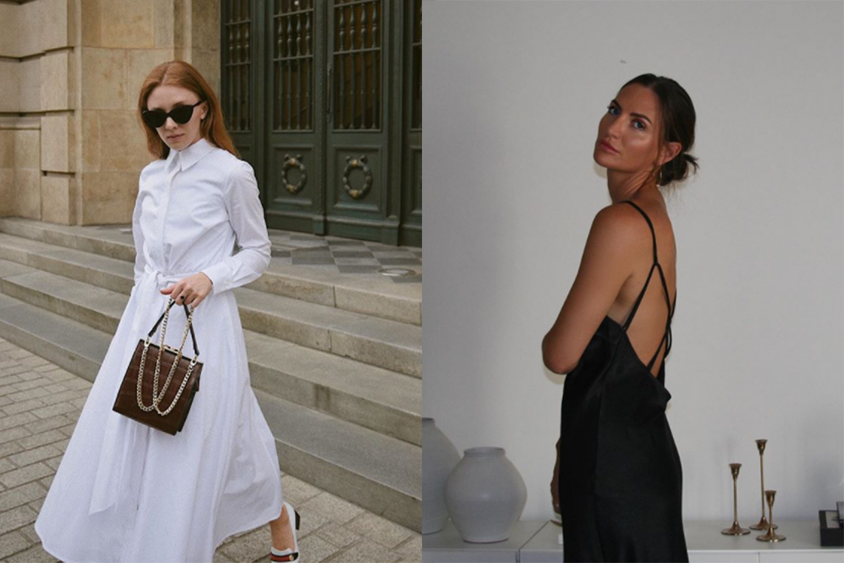 4 Pretty Dress Trends Fashion People Are Wearing Indoors